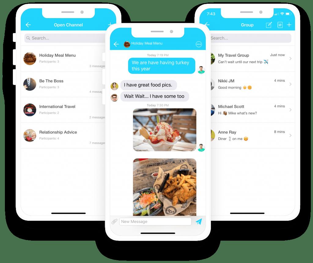 The Influencer Platform Chat Feature. #influencer #socialmedia #iphoneapp